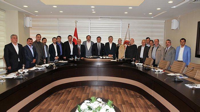 Milletvekili Aydın, Belediye Meclis Toplantısı'na katıldı