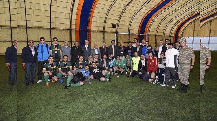 7. Kurumlararası Halı Saha Futbol Turnuvası sona erdi