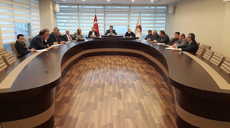 Gümüşhane Belediye Meclisi Nisan ayı toplantıları sona erdi