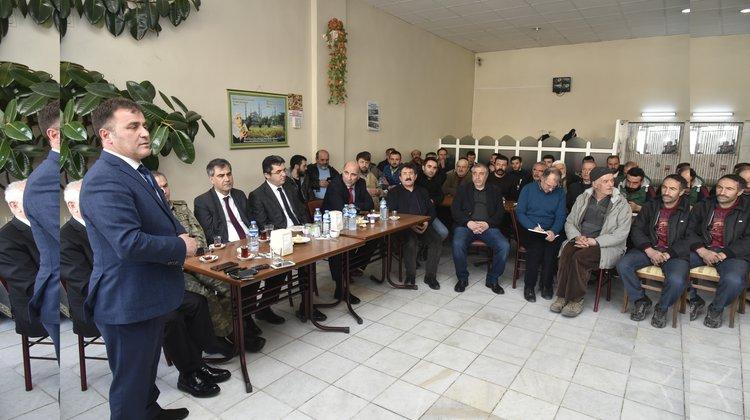 AVM için Daltaban sanayi esnafıyla toplantı düzenlendi