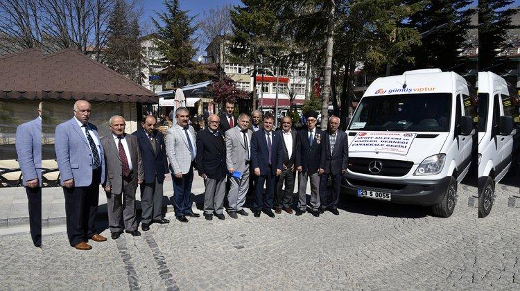 Gümüşhane Belediyesi, şehit yakınları ve gazileri Çanakkale'ye gönderdi