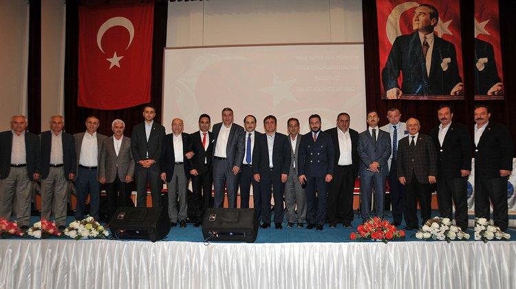 Gümüşhane Belediyesi tarafından 'Şehitleri Anma' gecesi düzenlendi.