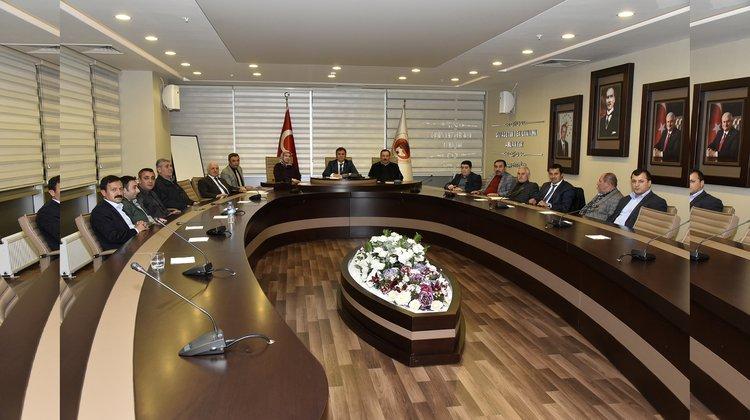 Belediye Meclisi Kasım ayı toplantıları yapıldı