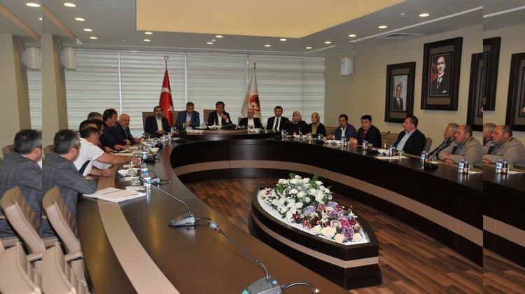 Gümüşhane Belediye Meclisi Ekim ayı toplantıları devam ediyor.