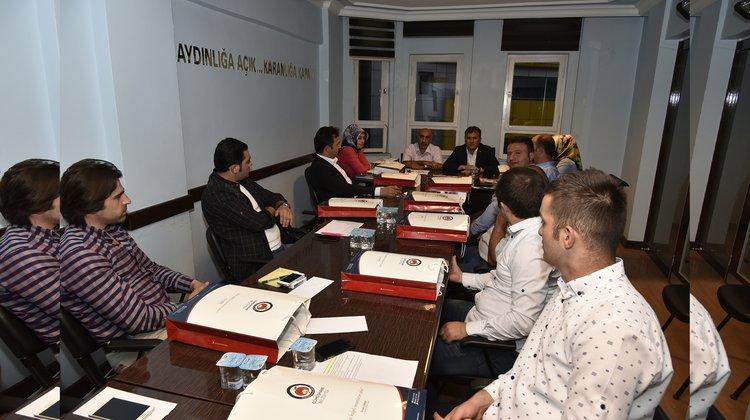 Başkan Çimen AK Parti Merkez İlçe Toplantısı'na katıldı