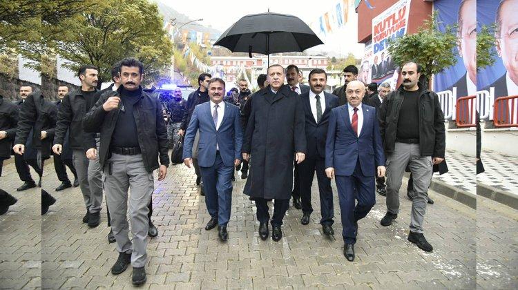 Cumhurbaşkanımız Sayın Recep Tayyip Erdoğan İlimizde