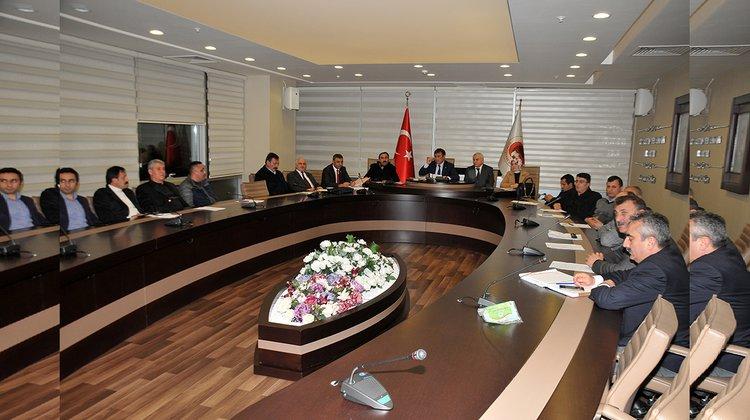 Gümüşhane Belediye Meclisi Aralık ayı toplantıları başladı