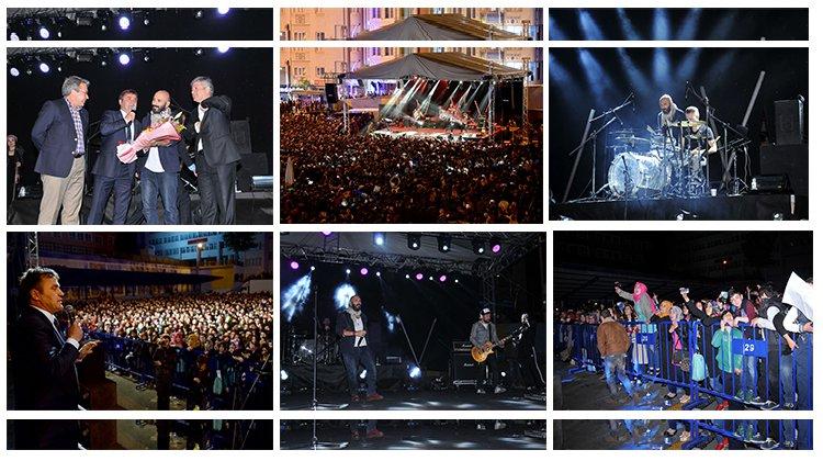 Gümüşhane Belediyesi'nce Gripin konseri düzenlendi