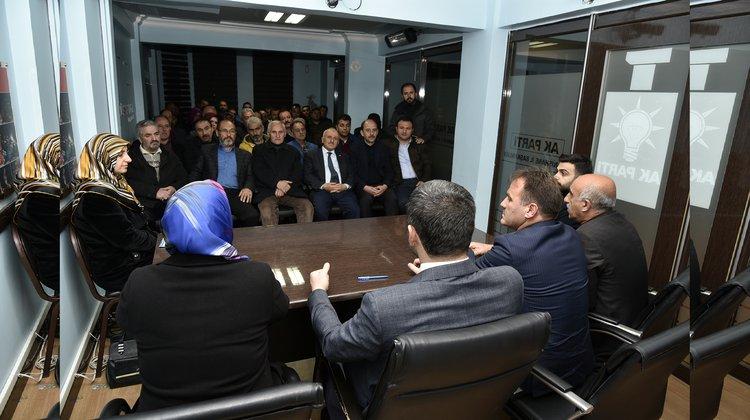 Başkan Çimen: Hizmetlerimiz artarak devam edecek