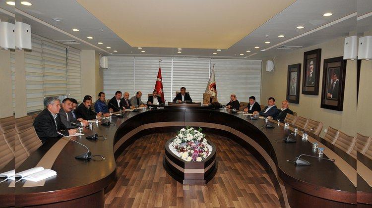 Gümüşhane Belediyesi Kasım ayı toplantıları başladı