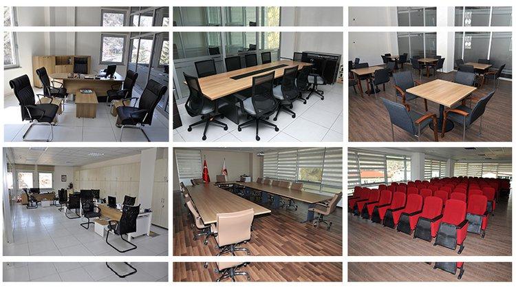 Belediye'nin tüm büro malzemeleri değiştirildi
