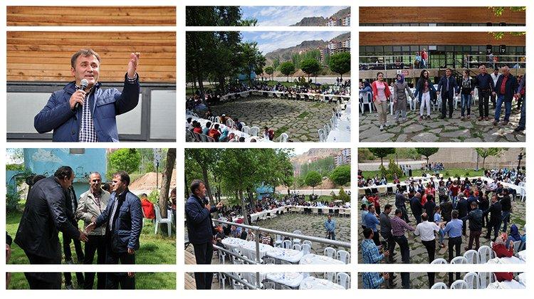 Gümüşhane Belediyesi 'Bahara Merhaba' şenliği düzenledi