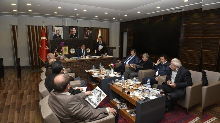 Gümüşhane Yerel Yönetimler Birliği Toplantısı yapıldı