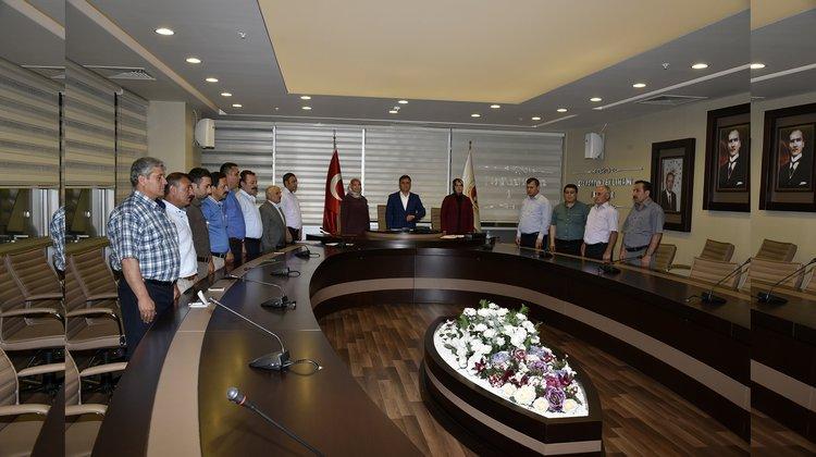 Belediye Meclisi'nde darbe kınandı