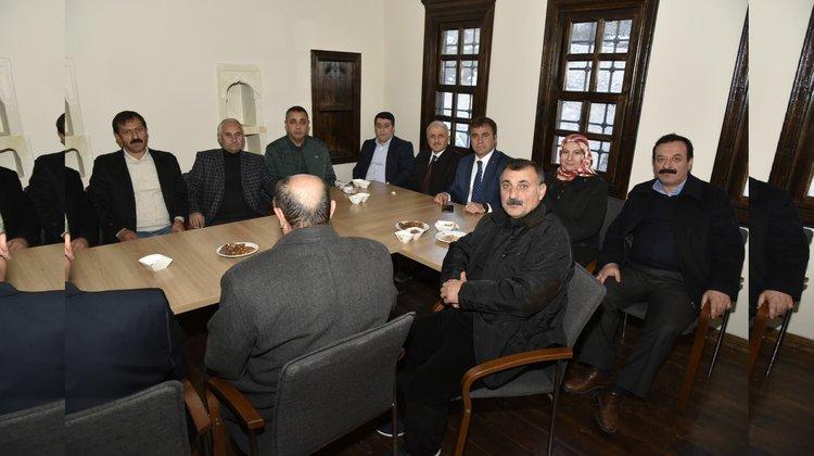 Başkan Çimen de Süleymaniye Mahallesinde ofis açtı
