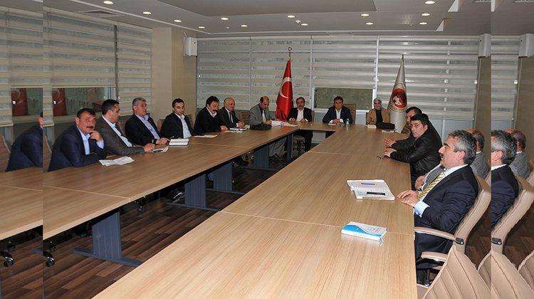 Gümüşhane Belediyesi encümen ve komisyon üyelikleri seçimi yapıldı.