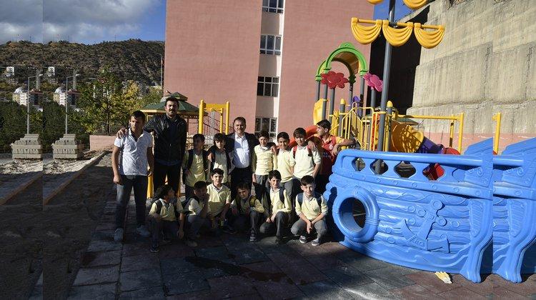Belediye 2 yılda 32 çocuk parkı yaptı