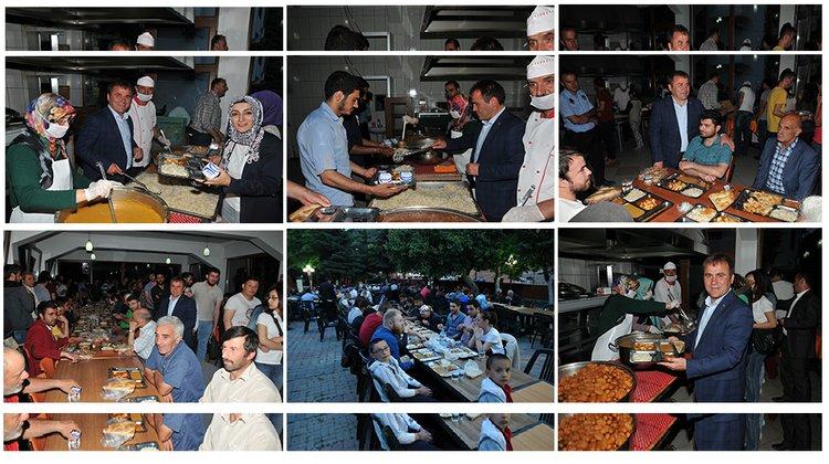 Belediye'nin iftar geleneği sürüyor