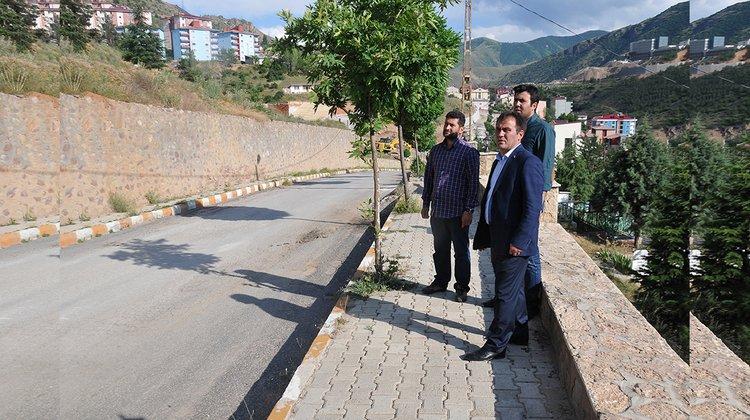 Gümüşhane Belediyesi yeni mezarlık alanı oluşturuyor