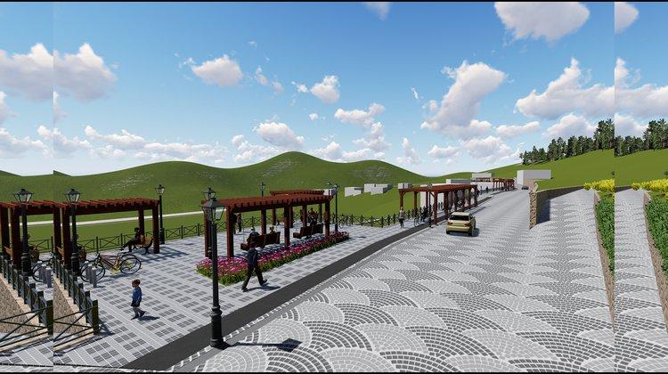 'Tarih ve Turizm Yolu' projesinin yapımına başlandı