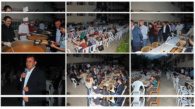 Hasanbey'de iftar coşkusu