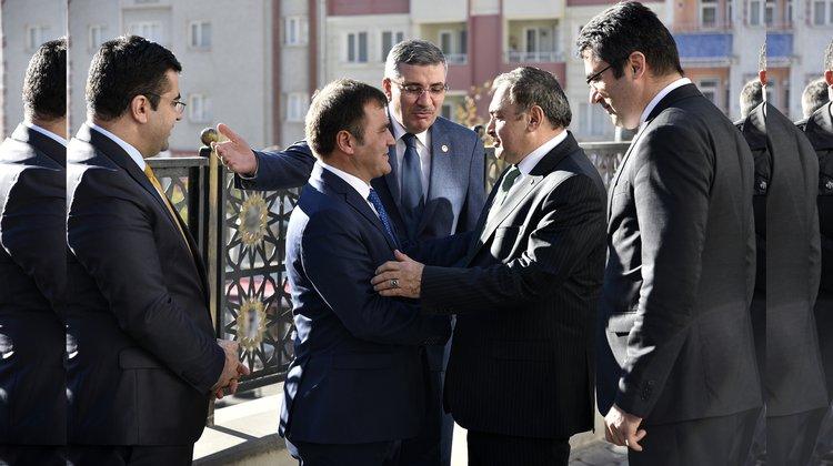Başkan Çimen'den Ağbal ve Eroğlu'na teşekkür