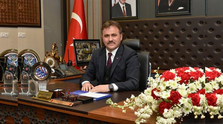 Başkan Çimen'den #BizBizeYeterizTürkiyem kampanyasına destek