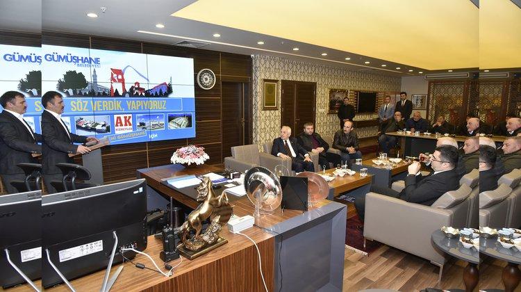 Daltaban sanayi esnafıyla toplantı düzenlendi