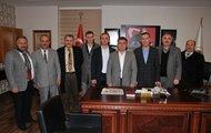 Memur-Sen'den Başkan Çimen'e ziyaret