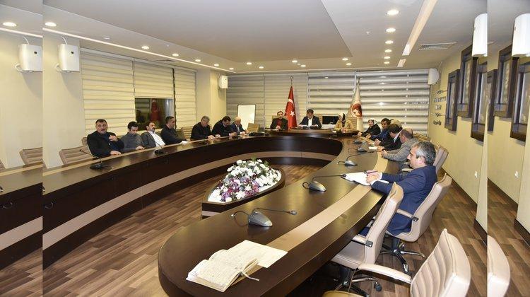 Belediye Meclisi Ocak ayı toplantıları başladı
