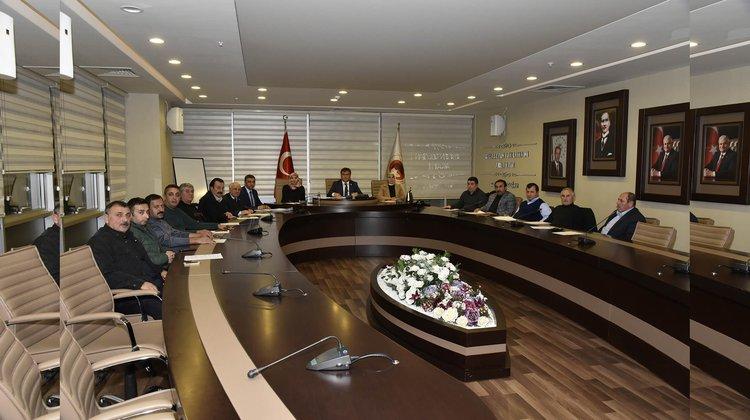 Belediye Meclisi Aralık ayı toplantıları başladı