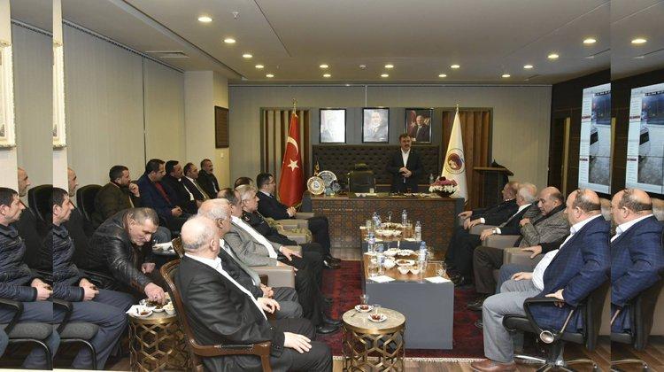 AVM İçin Otogar Esnafıyla Toplantı Düzenlendi