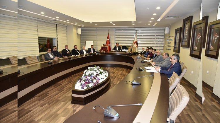 Belediye Meclisi Ocak ayı toplantıları sona erdi