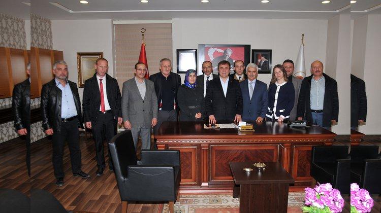 AK Parti Merkez İlçe Başkanı Zor'dan Başkan Çimen'e iade-i ziyaret