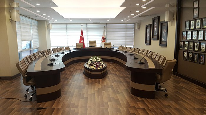 Gümüşhane Belediyesi Meclis Salonu yenilendi