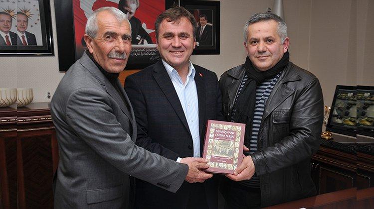 Belediye Başkanı Çimen, eğitimci-yazar İsmail Hayal'i kabul etti