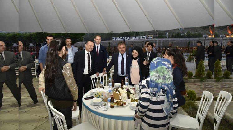 Belediye 'Kardeşlik iftarı' düzenledi