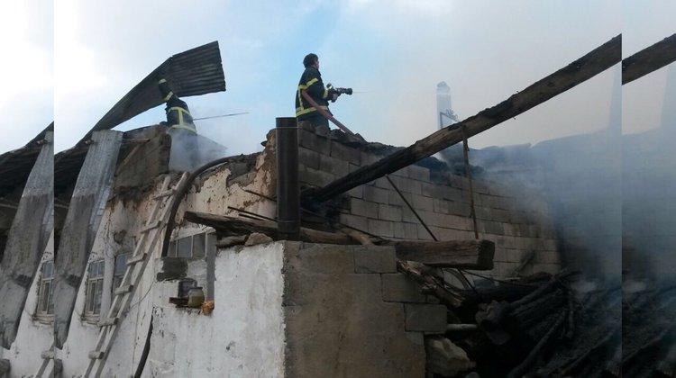 İtfaiye 2015 yılında 110 yangına müdahale etti