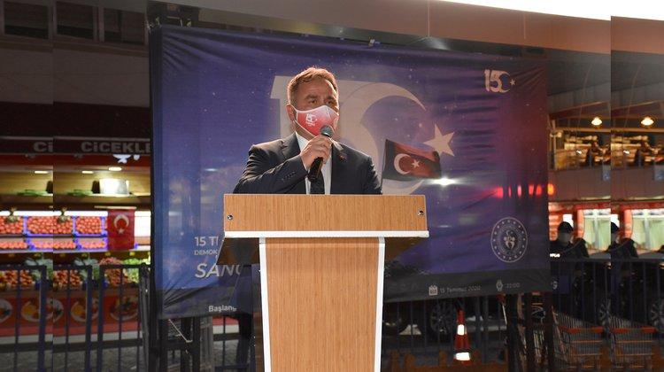 Gümüşhane'de 15 Temmuz Demokrasi ve Milli Birlik Günü etkinlikleri yapıldı.