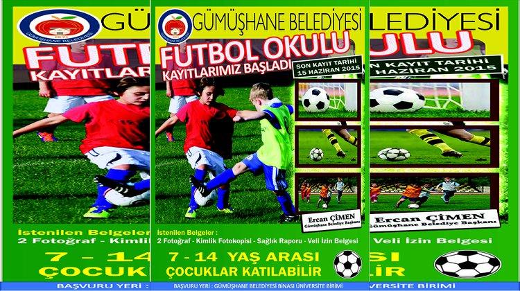Gümüşhane Belediyesi 'Yaz Futbol Okulu' düzenliyor