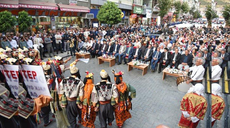 Gümüşhane'de festival coşkusu başladı