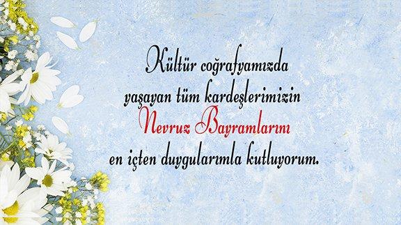 Başkan Çimen'in Nevruz Bayramı Mesajı