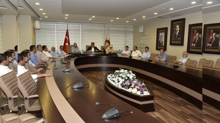 Belediye Meclisi Ağustos ayı toplantıları sona erdi