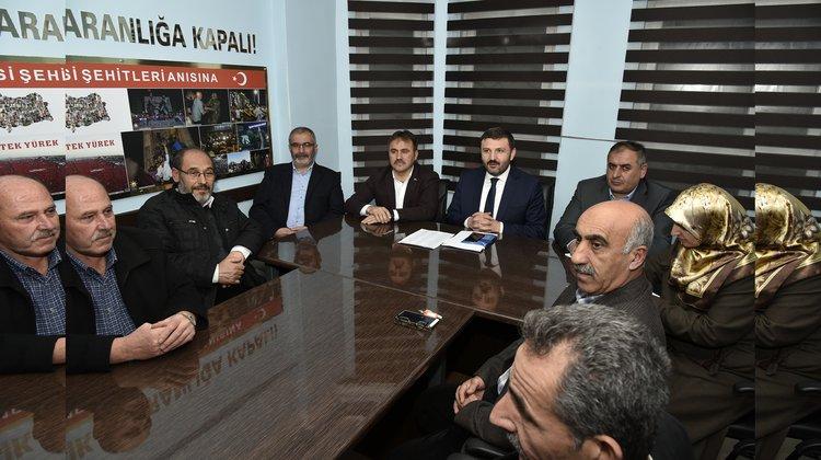 Başkanı Çimen, AK Parti Yönetim Kurulu Toplantısına katıldı