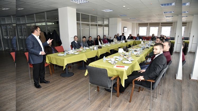 Başkan Çimen, mimarlar ile bir araya geldi