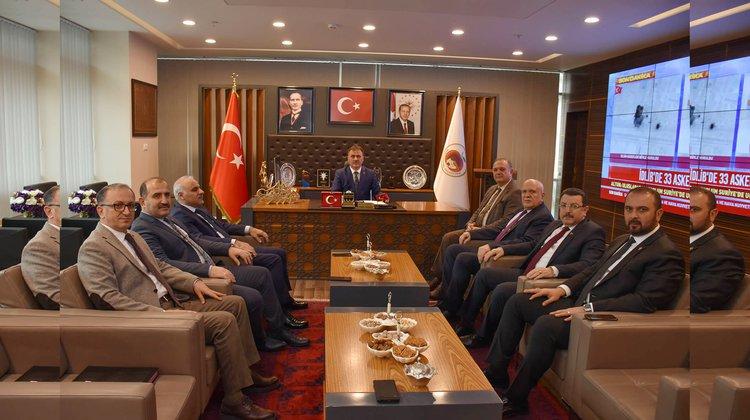 DKBB Encümen Toplantısı Gümüşhane'de Yapıldı.