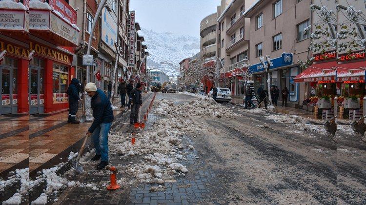 Kar, vatandaşa çile olmadı