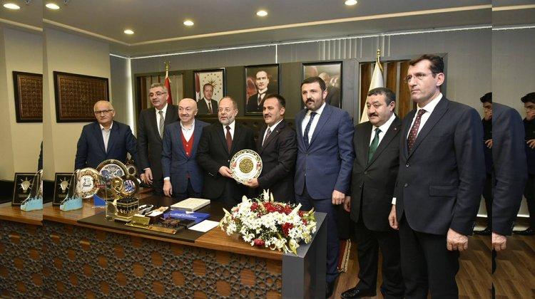 Başbakan Yardımcısı Akdağ, Başkan Çimen'i ziyaret etti