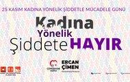 """Başkan Çimen, """"Kadına uygulanan şiddet asla kabul edilemez"""" dedi."""