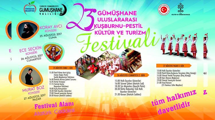 Festival programı belli oldu